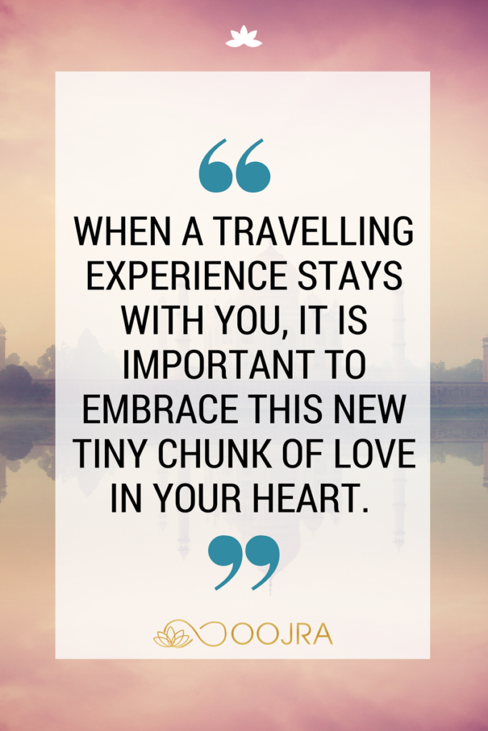 quote travelling experience