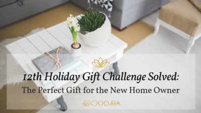 Gift Idea for New Home Owner - Essential Oil Reed Diffuser from Oojra