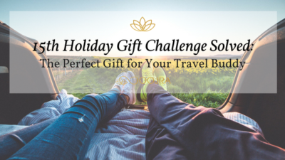 Gift Idea for Your Travel Buddy - Essential Oil Reed Diffuser from Oojra