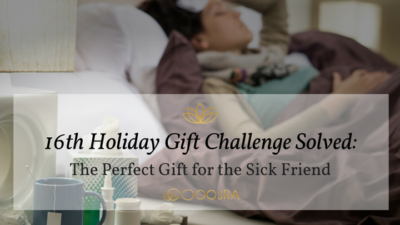 Gift Idea for Sick Friend or Family Member - Essential Oil Reed Diffuser from Oojra