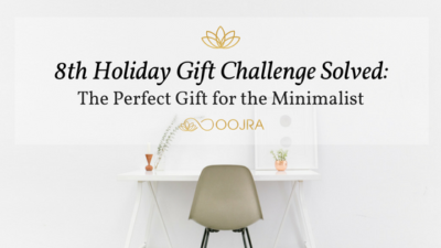 Gift Idea for Bachelors and Single Men - Essential Oil Reed Diffuser from Oojra