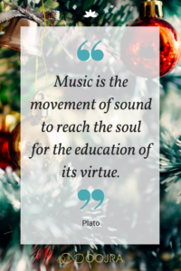 Music is the movement of sound to reach the soul. - Plato quote - www.Oojra.com