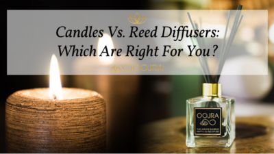 Candles Versus Reed Diffusers