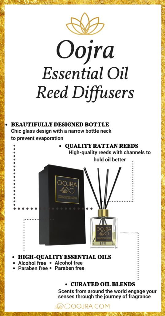 Oojra Oil Reed Diffuser Benefits