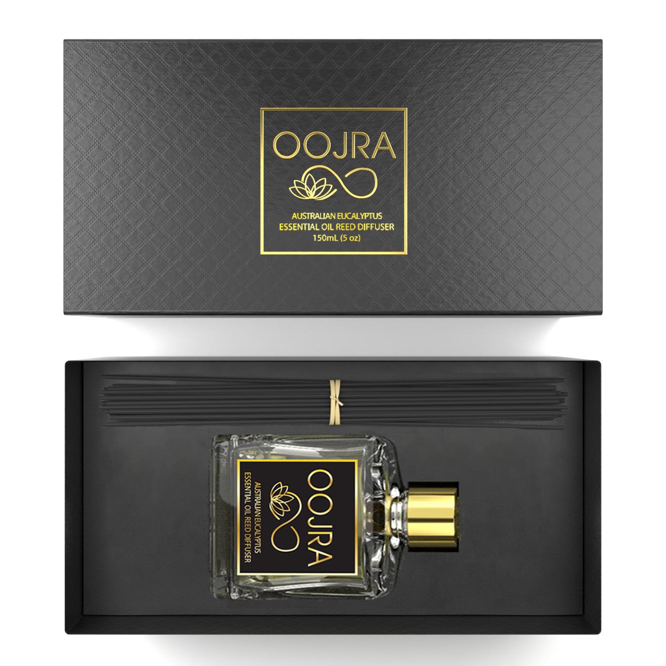 Oojra's Australian Eucalyptus essential oil reed diffuser