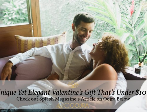 Splash Magazine Features Oojra as a Valentine's Gift Idea Under $100