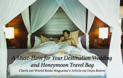 World Bride Magazine features Oojra
